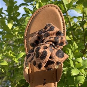 Shoes - 🎀Arrived Anna Leopard Sandal 🎀